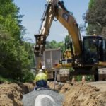 cpb excavations installing stormwater drainage