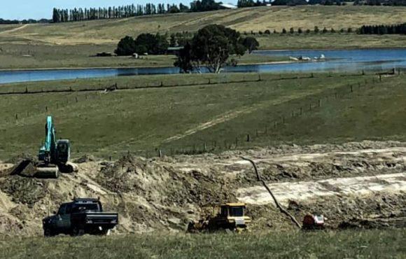 farm property irrigation dam